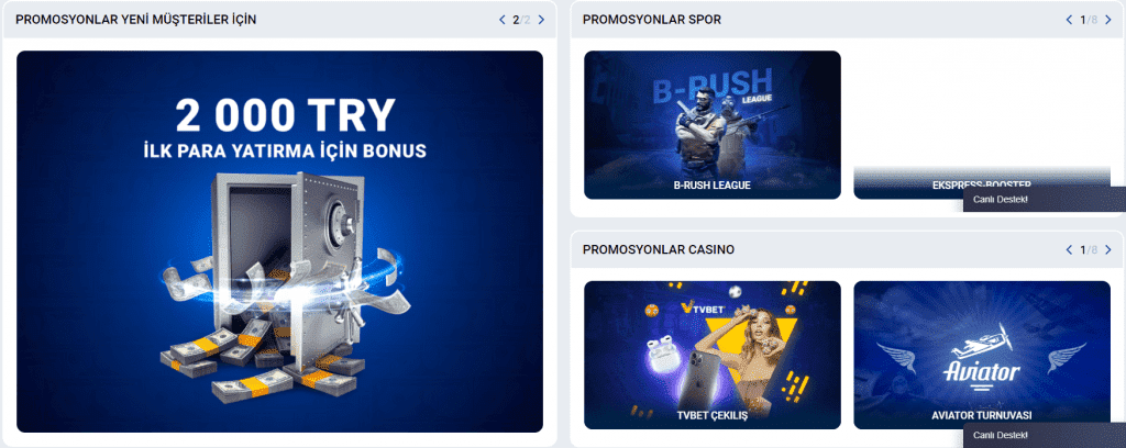 promotions on mostbet