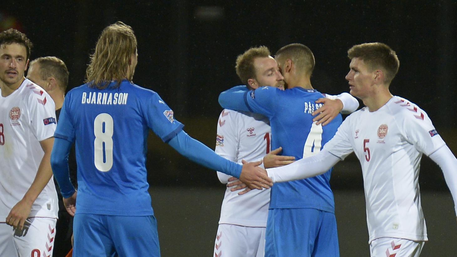 Danimarka vs İzlanda önizləmə