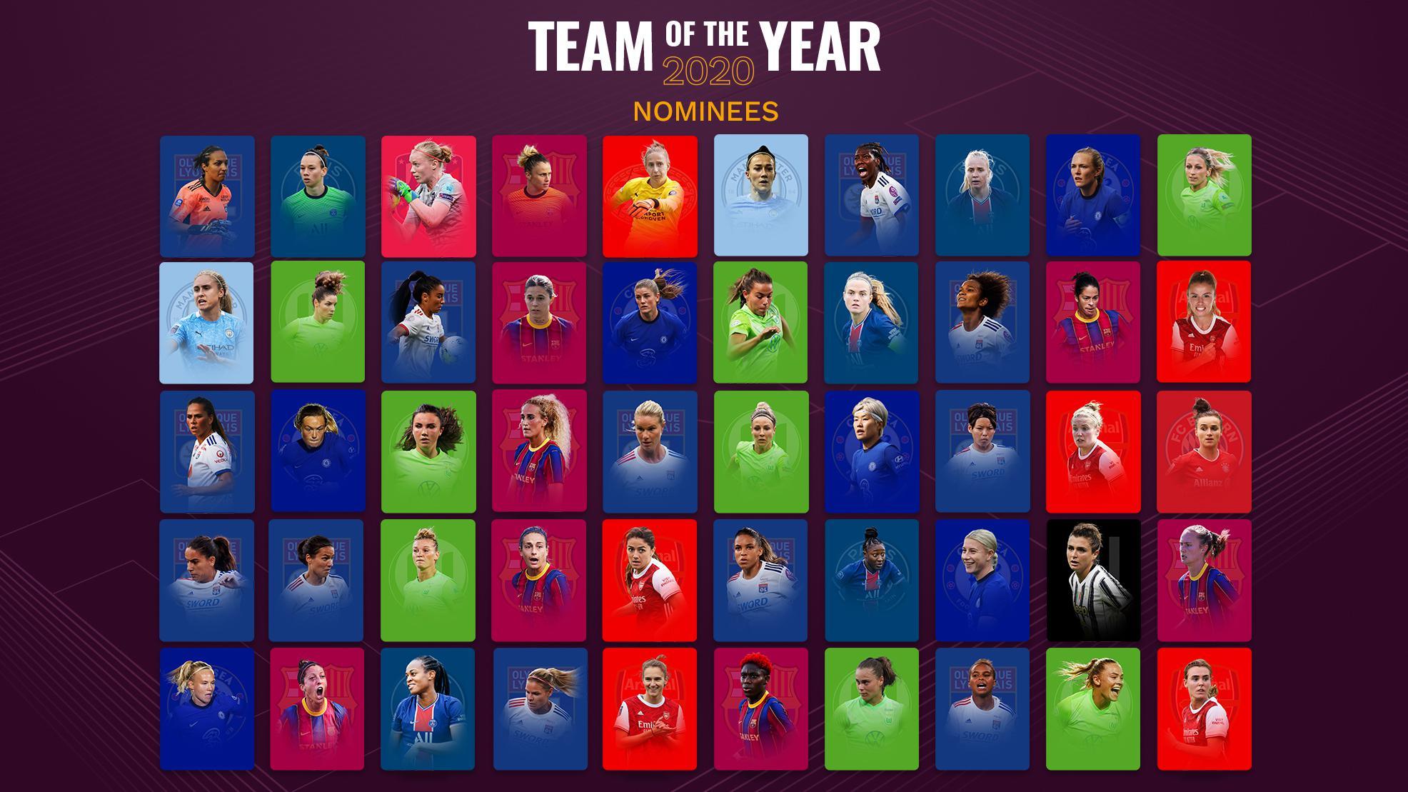 yılın kadın takımı